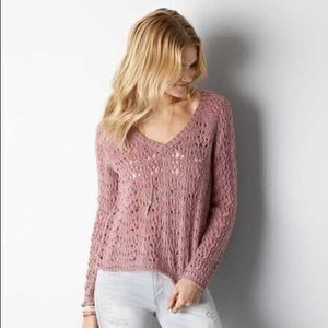 AE Open Knit Sweater